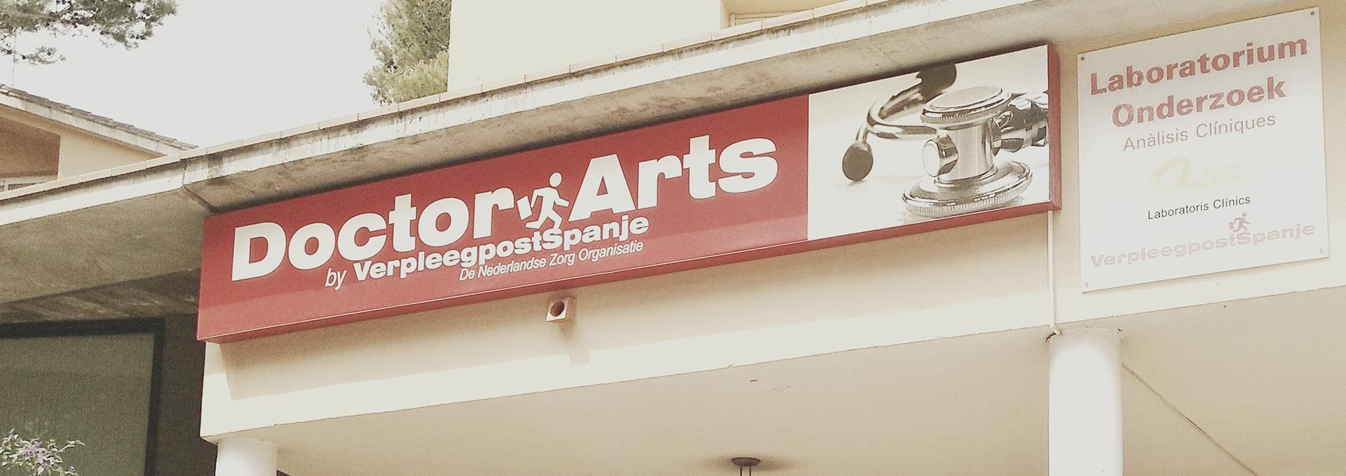 Uw huisarts in onze huisartsenpraktijk van Doctor Arts VerpleegpostSpanje Nederlandse Zorg Organisatie in Pals Begur aan de Costa Brava